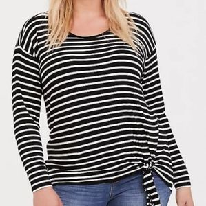 Torrid Striped Top NWT